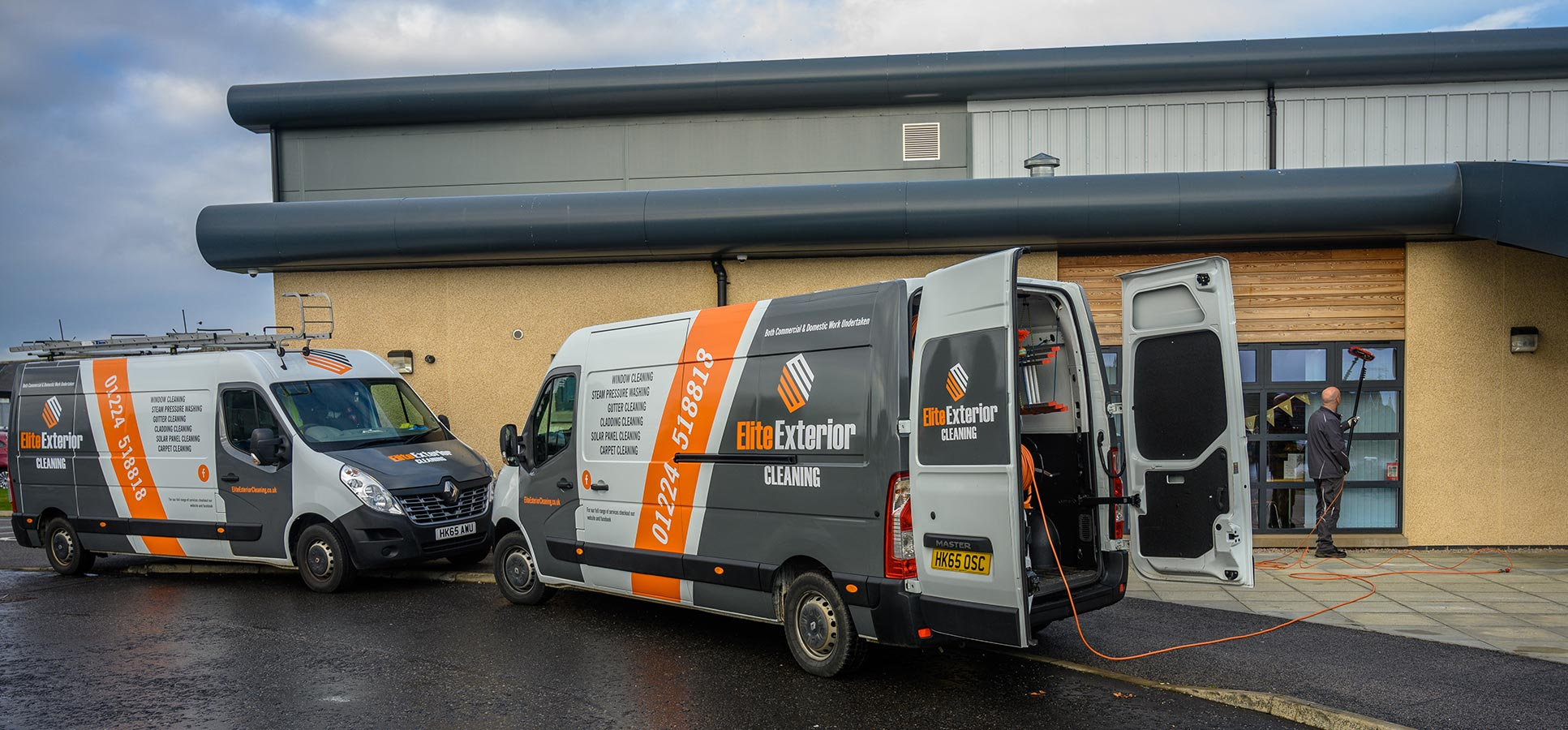 Our friendly, fully-trained team are specialists in both reach and wash and traditional window cleaning for homes of all shapes and sizes and businesses ...